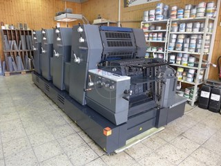 Heidelberg PM GTO 52-4+ Sheet Fed