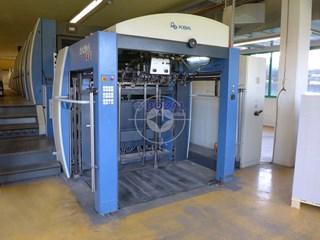 KBA Rapida 142-6+L ALV Hybrid IR+UV 单张纸胶印机