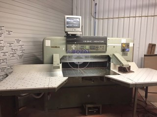 115 EMC MONITOR Guillotines/Cutters