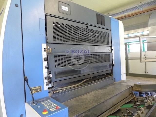 KBA Rapida 142-6+L ALV Hybrid IR+UV