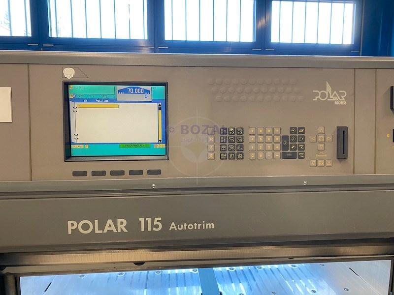 Polar 115 ED Autotrim Cutting Line