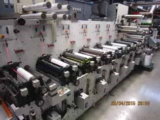Bobst Gidue Combat 430 Labels and Forms