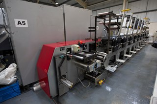 Edale Beta 250 Flexo Press