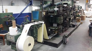 Gallus R200 8-colour press Labels and Forms
