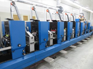Gallus TCS250 Offset Press Labels and Forms