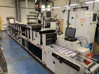 Mark Andy 2200 Servo Labels and Forms