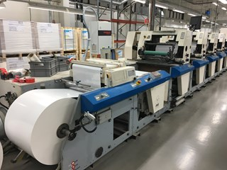 MPS EP510 Servo Label Press Labels and Forms