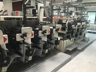 Nilpeter FA3300 - 10 Colour Press Labels and Forms