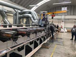 Nilpeter FA4 2016 with Gravure unit! Labels and Forms