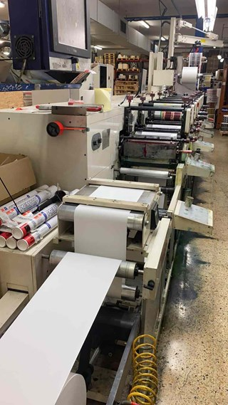 Nilpeter FB 3300 Labels and Forms