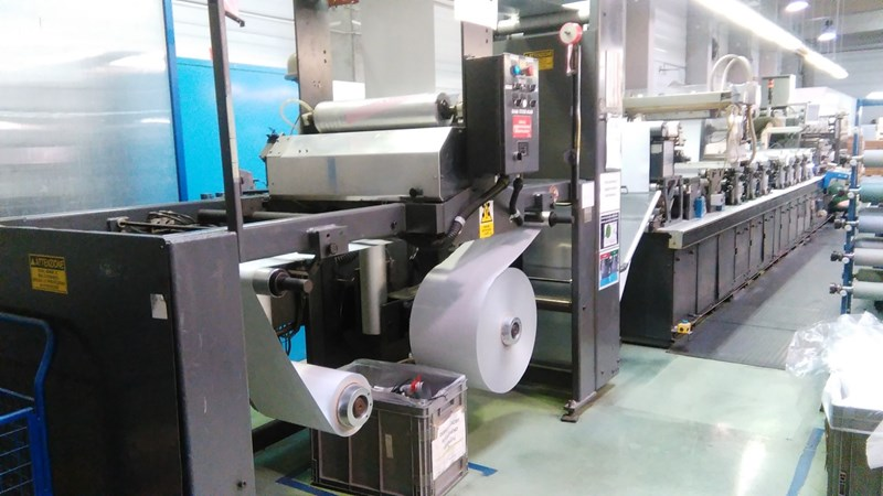 Show details for Gallus EM410 Lami-Tubes Press