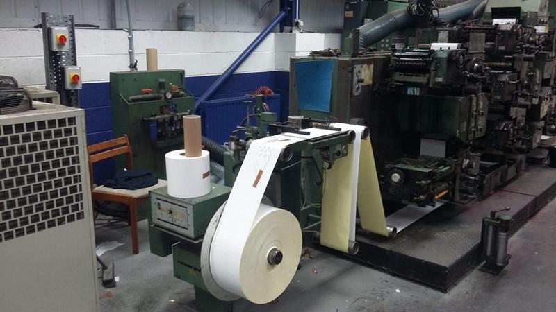 Gallus R200 8-colour press