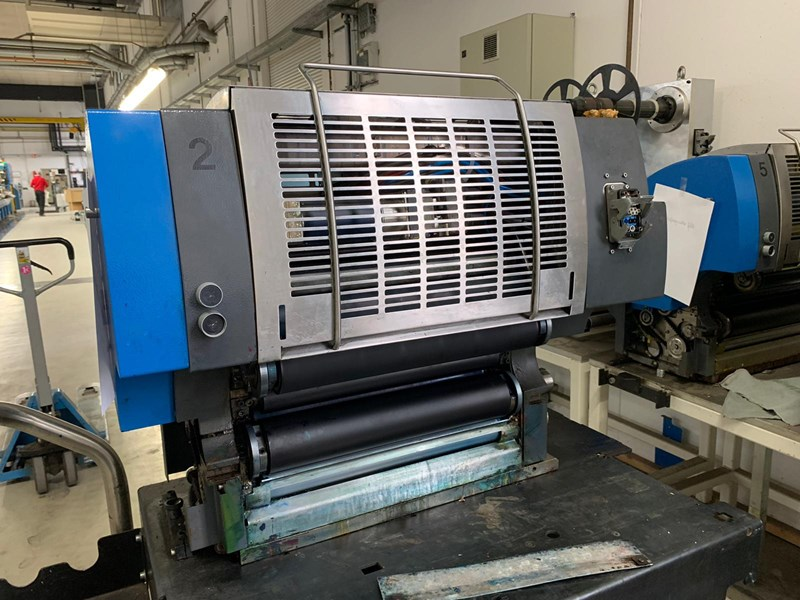 Gallus RCS430 - 10 colour press