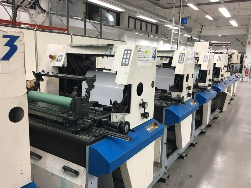 MPS EP510 Servo Label Press