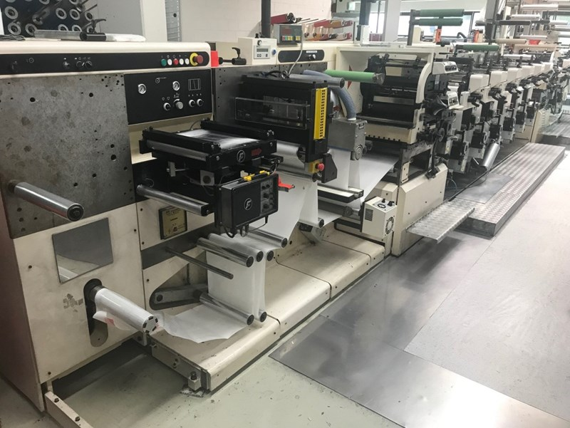 Nilpeter FA3300 - 10 Colour Press