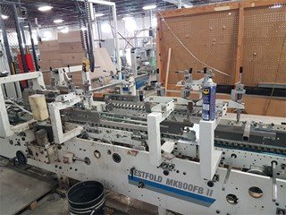 Masterwork   BestFold MK 800 FBII High speed automatic folder-gluer PLIEUSES COLLEUSES
