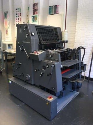Heidelberg GTO 52-1 Sheet Fed