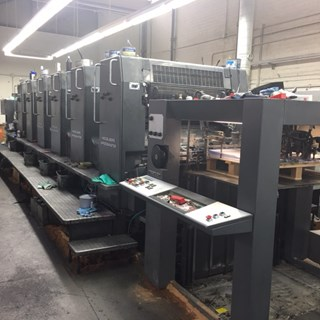 Heidelberg SM102-6-P Sheet Fed