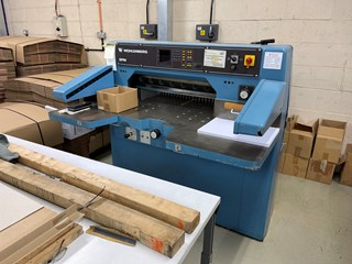 Wohlenberg 76 SPM Guillotines/Cutters