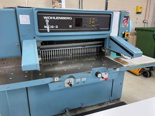 Wohlenberg 92 Guillotines/Cutters