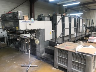 Komori L 528 P Sheet Fed