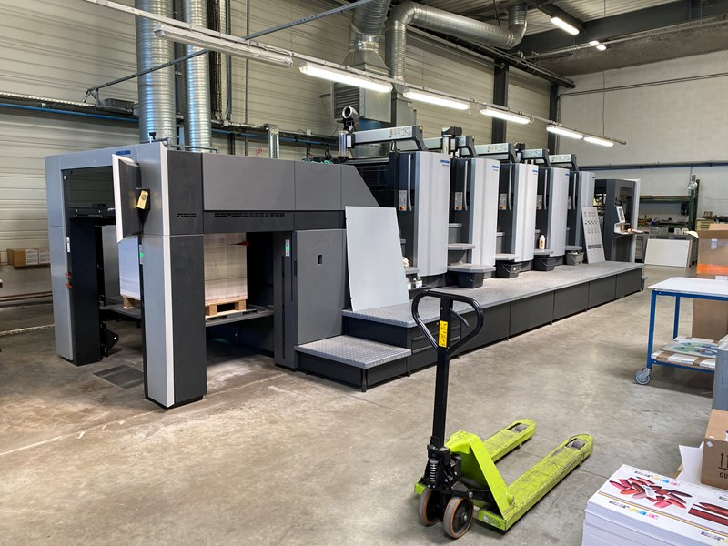 Show details for Heidelberg CX 102-5, LE UV