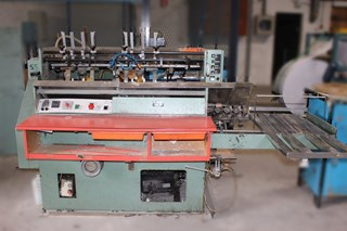Hunkeler VEA 400  Hard Cover Book Block Production / Sewing