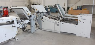 Stahl Heidelberg/ Ti 55/4 4 VFZ 52.D Folding machines