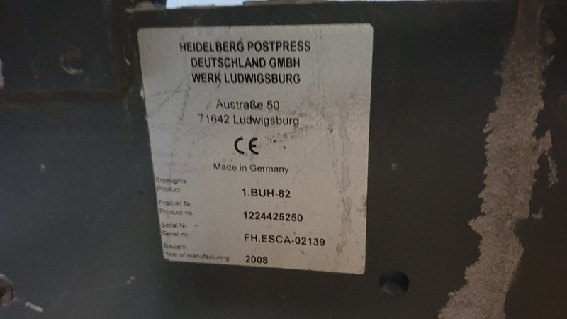 Heidelberg BUH-82/4-KL