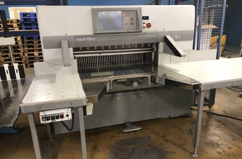 Show details for Cutting Line Polar 115 XT
