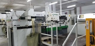 Bobst SP 102 BMA Foilmaster Die Cutters - Automatic and Handfed