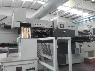 Bobst SP 102 BMA Die Cutters - Automatic and Handfed