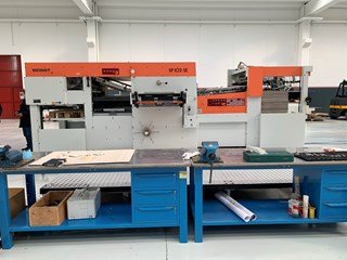 Bobst SP 102 SE Die Cutters - Automatic and Handfed
