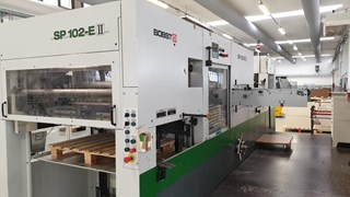 Bobst SP 102 E II Die Cutters - Automatic and Handfed