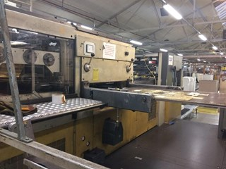 Bobst SP 126 BMA Die Cutters - Automatic and Handfed