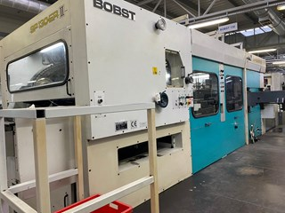 Bobst SP 130 ER   II Die Cutters - Automatic and Handfed