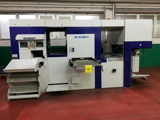 Bobst SP 76 BM FOILMASTER Die Cutters - Automatic and Handfed
