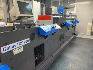Gallus TCS 250 5 Labels and Forms