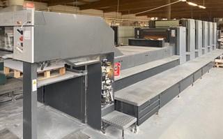 Heidelberg CD102 5 LX2 单张纸胶印机