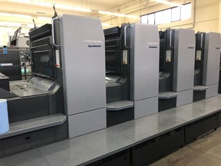 Heidelberg CD102 4 Sheet Fed