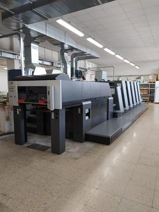 Heidelberg CD74 5 LX2 C UV 单张纸胶印机