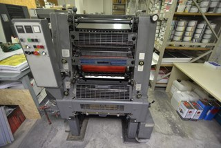 Heidelberg GTO52 1 + Sheet Fed