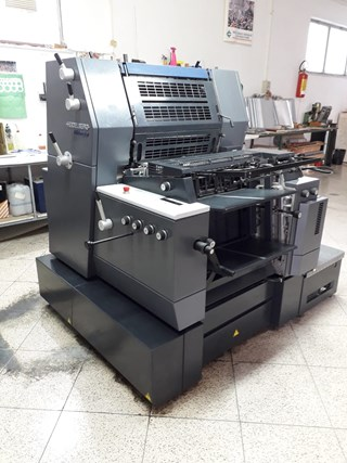 Heidelberg GTO52 1 Sheet Fed