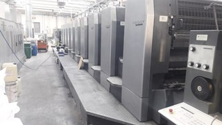 Heidelberg SM102 10 P6 Sheet Fed