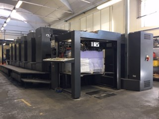Heidelberg SM102 6 P Sheet Fed