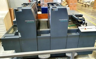 Heidelberg SM52 2 Sheet Fed