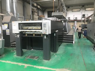 HEIDELBERG XL 106 8 P+L Sheet Fed
