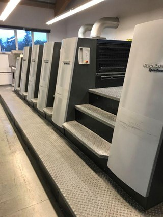 Heidelberg XL75 5 P2+L Sheet Fed