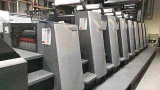 Heidelberg XL75 8  LX3 F Hybrid Foil Sheet Fed