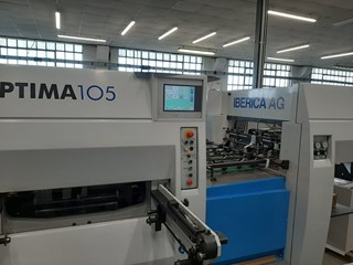 IBERICA OPTIMA 106 Die Cutters - Automatic and Handfed